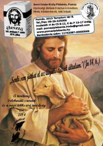 A tevékeny Felebaráti szeretet és a napi többszöri imádság éve 2014