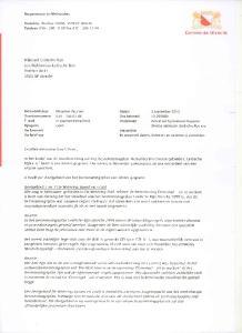 a WUkbureau Leidsche Rijn Postbus RP Utrecht. Burgemeester en Wethouders