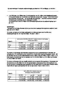 aanmerkingen Evaluatie accijnsverhoging op diesel en LPG en Bijlage, d.d