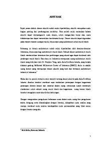 ABSTRAK. 1 Stella Mailoa, Bravacassa Indonesia
