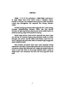 ABSTRAK Afrida, Abdul Gafar H. Aswar Hasan