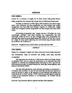 ABSTRAK UDC (OSDC)