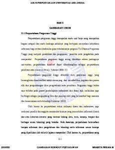 ADLN-PERPUSTAKAAN UNIVERSITAS AIRLANGGA BAB II GAMBARAN UMUM