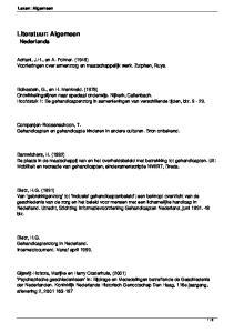 Adriani, J.H., en A. Folmer. (1949) Voorlezingen over armenzorg en maatschappelijk werk. Zutphen, Ruys