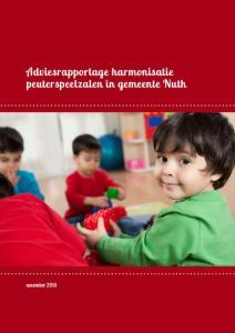 Adviesrapportage harmonisatie peuterspeelzalen in gemeente Nuth