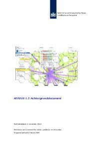 AERIUS 1.5 Achtergronddocument. Publicatiedatum 2 november 2012