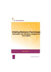 Afdeling Medische Psychologie Informatie voor kinderen, jongeren en hun ouders