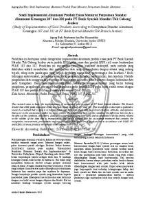 Agung dan Nur, Studi Implementasi Akuntansi Produk Emas Menurut Pernyataan Standar Akuntansi