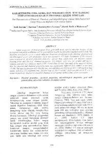 al., 2000). Iradiasi UV dapat mernpenuaruhi DNA baktcri. r irus..irtrur