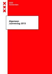 Algemeen Jaarverslag 2013