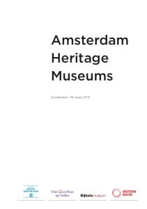 Amsterdam Heritage Museums