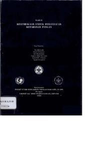 AN, DEPTAN ;, - 1 Collectia I. , Yayat Heryatno. Kerjasama PUSAT STUD1 KEBIJAKAN PANGAN Dengan UNICEF dan BlRO PERENCANA DAN GIZI, LP-IPB