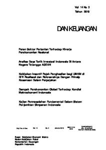 Analisa Daya Tarik Investasi Indonesia Di Antara Negara Tetangga ASEAN