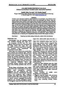 ANALISIS PROSES TEMPERING PADA BAJA DENGAN KANDUNGAN KARBON 0,46% HASILSPRAY QUENCH