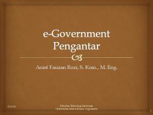 Anief Fauzan Rozi, S. Kom., M. Eng