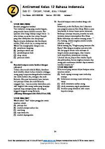 Antiremed Kelas 12 Bahasa Indonesia