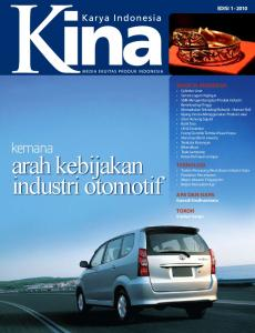 arah kebijakan industri otomotif