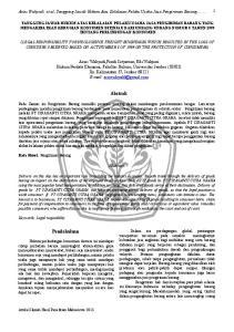 Aries Wahyudi et al.,tanggung Jawab Hukum Atas Kelalaian Pelaku Usaha Jasa Pengiriman Barang