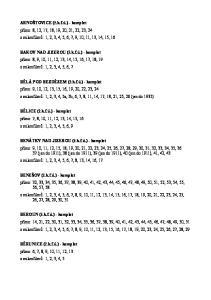 ARNOŠTOVICE (ř.k.f.ú.) - komplet přímo: 8, 12, 17, 18, 19, 20, 21, 22, 23, 24 z mikrofilmů: 1, 2, 3, 4, 5, 6, 7, 9, 10, 11, 13, 14, 15, 16