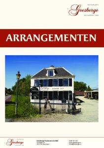 ARRANGEMENTEN Geesberge Restaurant en B&B