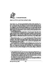 Asinius Pollio politikai pályafutása