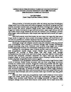 ASPEK HUKUM PERLINDUNGAN VARIETAS TANAMAN DITINJAU DARI UNDANG-UNDANG NOMOR 29 TAHUN 2000 TENTANG PERLINDUNGAN VARIETAS TANAMAN