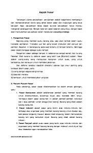 Aspek Pasar. aderismanto01.wordpress.com