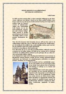 Astrale mysteriën in een pelgrimshoed: SANTIAGO DE COMPOSTELA