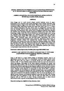 ASUHAN KEPERAWATAN BERSIHAN JALAN NAPAS TIDAK EFEKTIF PADA Ny S DENGAN ASMA (LAPORAN KASUS DI RUANG CEMPAKA RSUD JOMBANG)