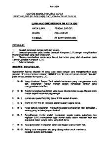 BA TNI AD TA 2015 UJIAN AKADEMIK DIKTUKPA TNI AD TA 2015