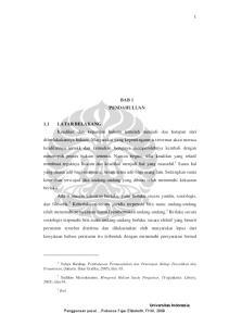 BAB 1 PENDAHULUAN. Penuntutan, (Jakarta: Sinar Grafika, 2005), hlm ), hlm.94