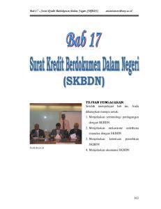 Bab 17 Surat Kredit Berdokumen Dalam Negeri (SKBDN)