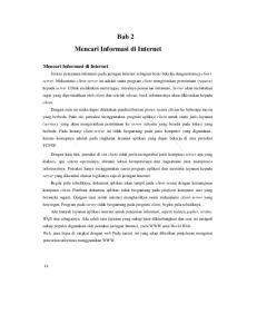 Bab 2 Mencari Informasi di Internet