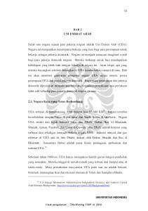 BAB 2 UNI EMIRAT ARAB. UEA terletak di Semenanjung Arab dengan luas KM 2