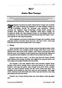 Bab 3 Analisis Rasio Keuangan
