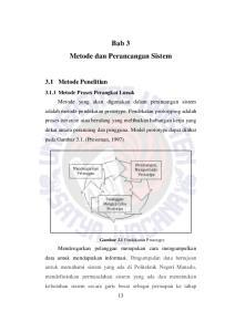 Bab 3 Metode dan Perancangan Sistem