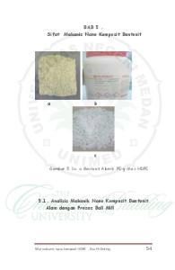 BAB 5. Sifat Mekanis Nano Komposit Bentonit