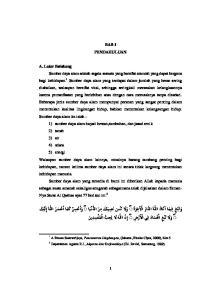 BAB I PENDAHULUAN. 1 A.Tresna Sastrawijaya, Pencemaran Lingkungan, (Jakarta,Rineka Cipta, 2000), hlm 5