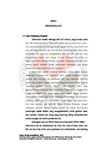 BAB I PENDAHULUAN 1.1 Latar Belakang Masalah Annisa Karima Ramadhanti, 2013