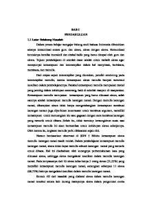BAB I PENDAHULUAN 1.1 Latar Belakang Masalah Dalam proses belajar mengajar bidang studi bahasa Indonesia dibutuhkan adanya komunikasi antara guru dan