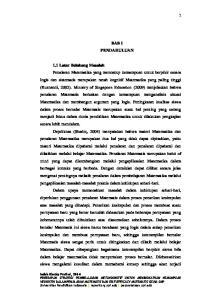 BAB I PENDAHULUAN 1.1 Latar Belakang Masalah Indah Riezky Pratiwi, 2014