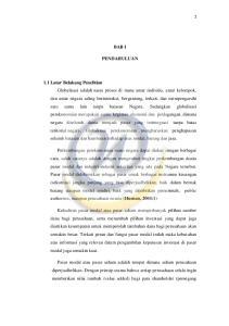 BAB I PENDAHULUAN 1.1 Latar Belakang Penelitian (Husnan, 2004:1)
