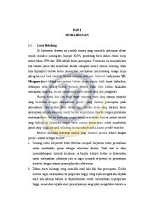 BAB I PENDAHULUAN 1.1 Latar Belakang YB. Mangunwijaya (Alm)