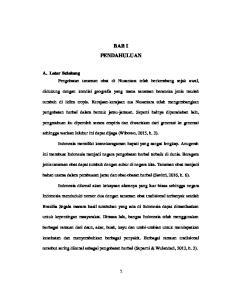 BAB I PENDAHULUAN. A. Latar Belakang Pengobatan tanaman obat di Nusantara telah berkembang sejak awal,