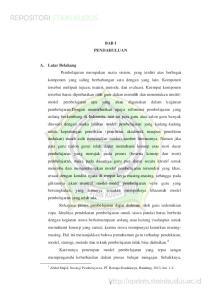 BAB I PENDAHULUAN. Abdul Majid, Strategi Pembelajaran, PT Remaja Rosdakarya, Bandung, 2013, hal. 1-2