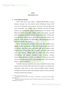 BAB I PENDAHULUAN. Ahmad Ghazali, Menuju Masyarakat Industri yang Madani, Asean Aceh Fertilizer, Jakarta, 1998, hlm