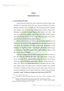 BAB I PENDAHULUAN. Aunur Rohim Faqih, Bimbingan Konseling dalam Islam, UII Pres, Yogyakarta, 2001, hlm. 70 2