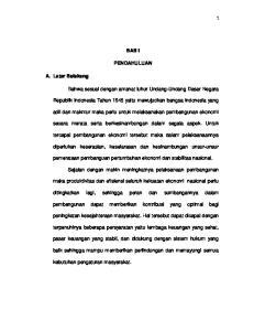 BAB I PENDAHULUAN. Bahwa sesuai dengan amanat luhur Undang-Undang Dasar Negara. Republik Indonesia Tahun 1945 yaitu mewujudkan bangsa Indonesia yang