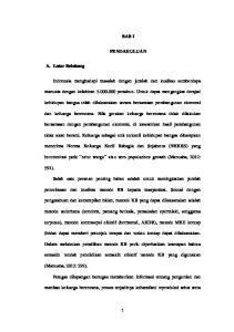 BAB I PENDAHULUAN. Indonesia menghadapi masalah dengan jumlah dan kualitas sumberdaya