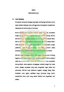 BAB I PENDAHULUAN. masyarakat dan perekonomian di Indonesia. Perum BULOG Divisi Regional Sumbar adalah salah satu perusahaan